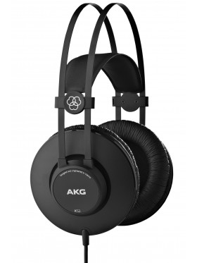 AKG K52 Closed-Black Studio Headphones