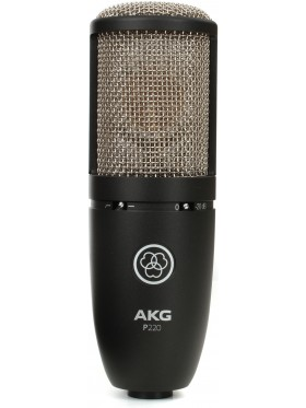 AKG Perception P220 Cardioid Condenser Studio Microphone