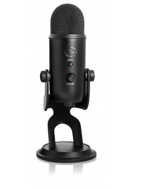 Blue Yeti Blackout USB Microphone