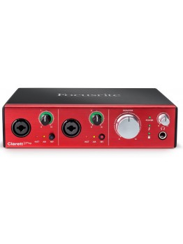 Focusrite Clarett 2Pre Audio Interface 24-bit/192kHz with Thunderbolt Connectivity