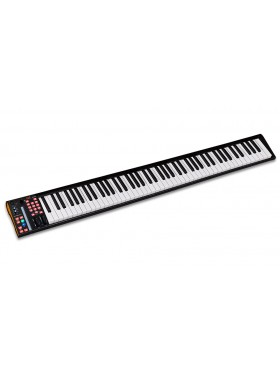 ICON-Global iKeyboard 8S 88 Semi Weighted Keys Keyboard with 24-bit/192kHz USB Audio Interface