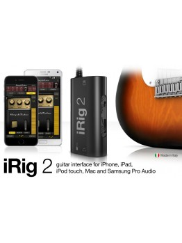 IK Multimedia iRig 2 Mobile Guitar Interface Adaptor
