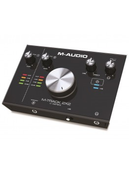 M-Audio M-Track 2X2  2-in/2-out USB Audio Interface (24-bit/192kHz)
