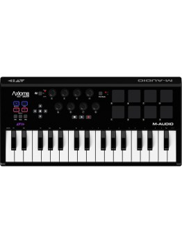 M-Audio Axiom AIR Mini 32 - New - Premium Keyboard and Pad Controller