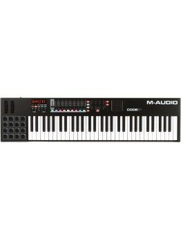 M-Audio Code 61 USB MIDI Controller - Black