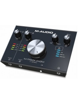 M-Audio M-Track 2X2M 2-in/2-out USB Audio/MIDI Interface (24-bit/192kHz)