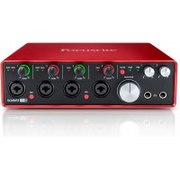 Focusrite Scarlett 18i8 24-bit/192kHz - Second Generation USB Audio Interface