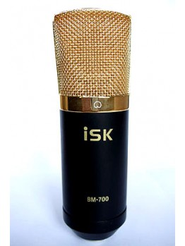 ISK BM-700 Microphone with shock & pop filter