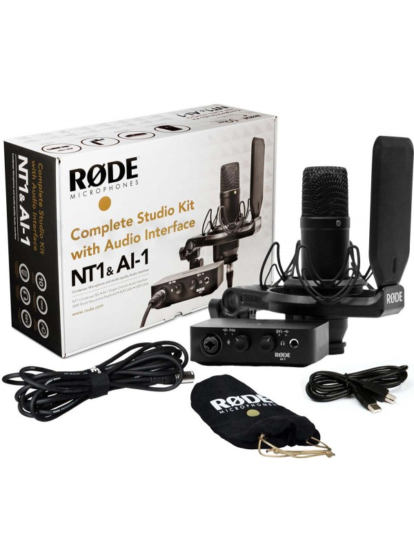 Rode Complete Studio Kit with the NT1 and AI-1 - Music Guide