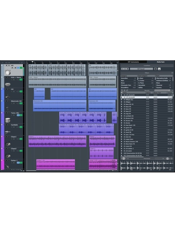 Steinberg Cubase Pro 10 Music Production Software - Music